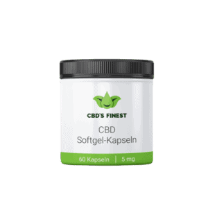 CBD Softgel-Kapseln 5 mg