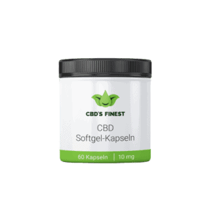 CBD Softgel-Kapseln 10 mg