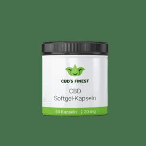 CBD Softgel-Kapseln 20 mg
